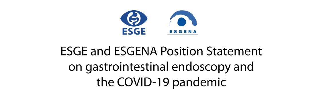 ESGE and ESGENA Position Statement on gastrointestinal endoscopy and the COVID-19 pandemic